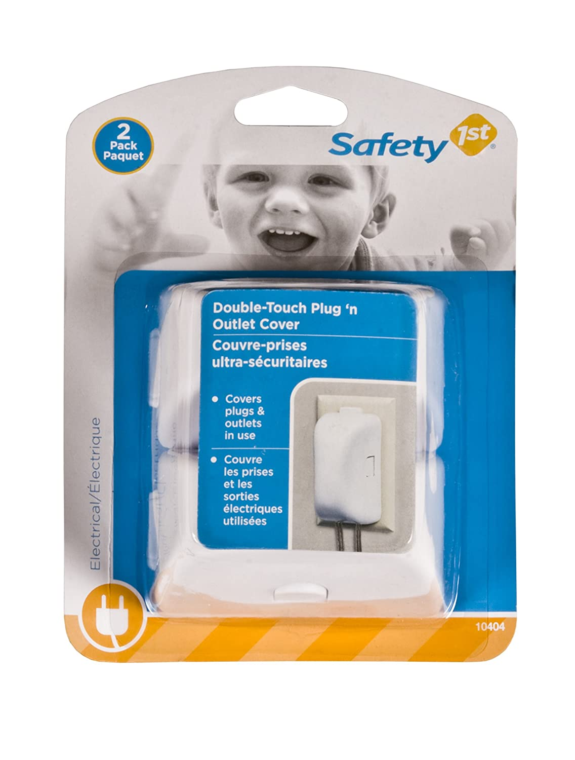 Safety 1st Plug and Outlet Covers-2 Pack Dorel Juvenile Canada 10404