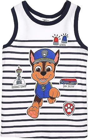 Paw Patrol Niños Camiseta Sin Mangas