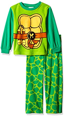 Amazon.com: Nick Jr. Little Boys Ninja Turtles 2 Piece PJ ...