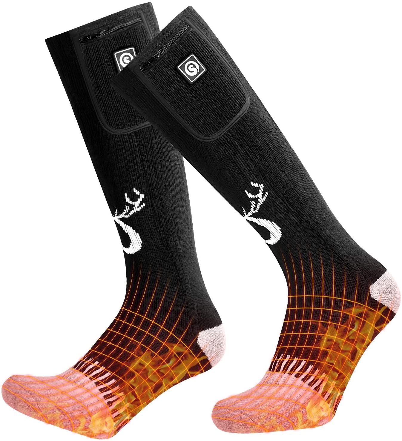 Snow Deer Upgraded Heated Socks