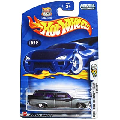 Hot Wheels 2003 First Editions 10/42 8 Crate #022 on Card Variation: Toys & Games