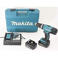 Makita DHP453RFX4Taladro atornillador de percusión con 2baterías 18V