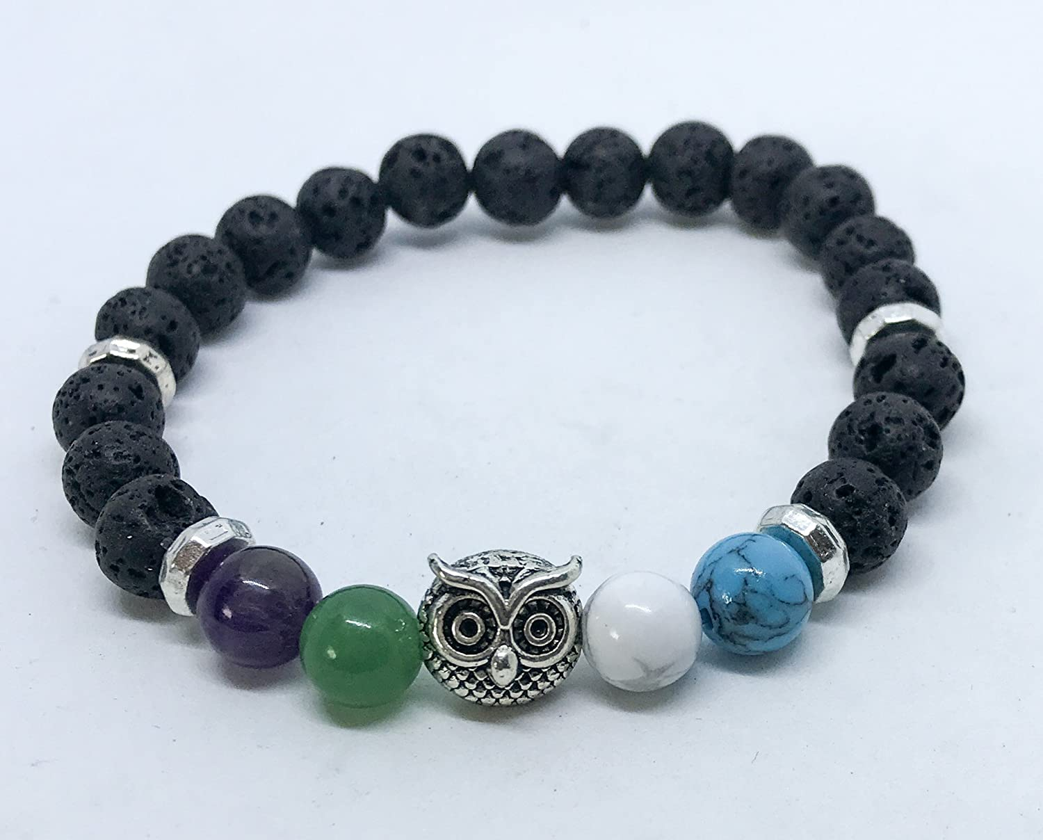 Anxiety & Depression Owl Support Aromatherapy Diffusing Bracelet