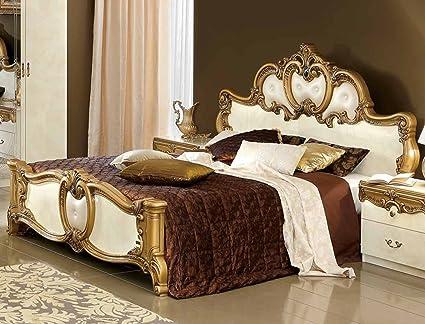 Amazon.com: ESF Barocco Bedroom Set with King Bed, Nightstand ...