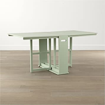 Crate And Barrel Span Mint Gateleg Dining Table Amazonca Home