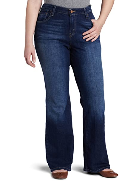 Amazon.com: Levi s Women s PLUS-SIZE 580 Bootcut Jean, 20 ...