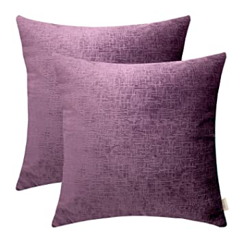 Swell Velvet Pillow Cover 20X20 Pillow Covers Mocofo Pack Of 2 Large Decorative Purple Accent Couch Throw Pillow Covers Super Soft Faux Fur Striped Plush Ncnpc Chair Design For Home Ncnpcorg