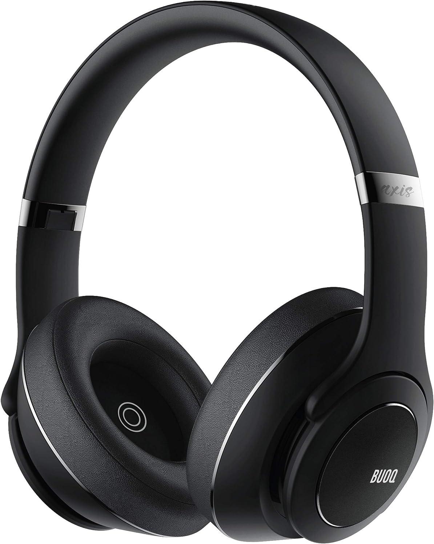 Auriculares & altavoz BUOQ Axis 3 en 1, Bluetooth 5.0 Auriculares, Altavoz y wearable, 3 modos de EQ, almohadillas de espuma - memoria NIF Tech