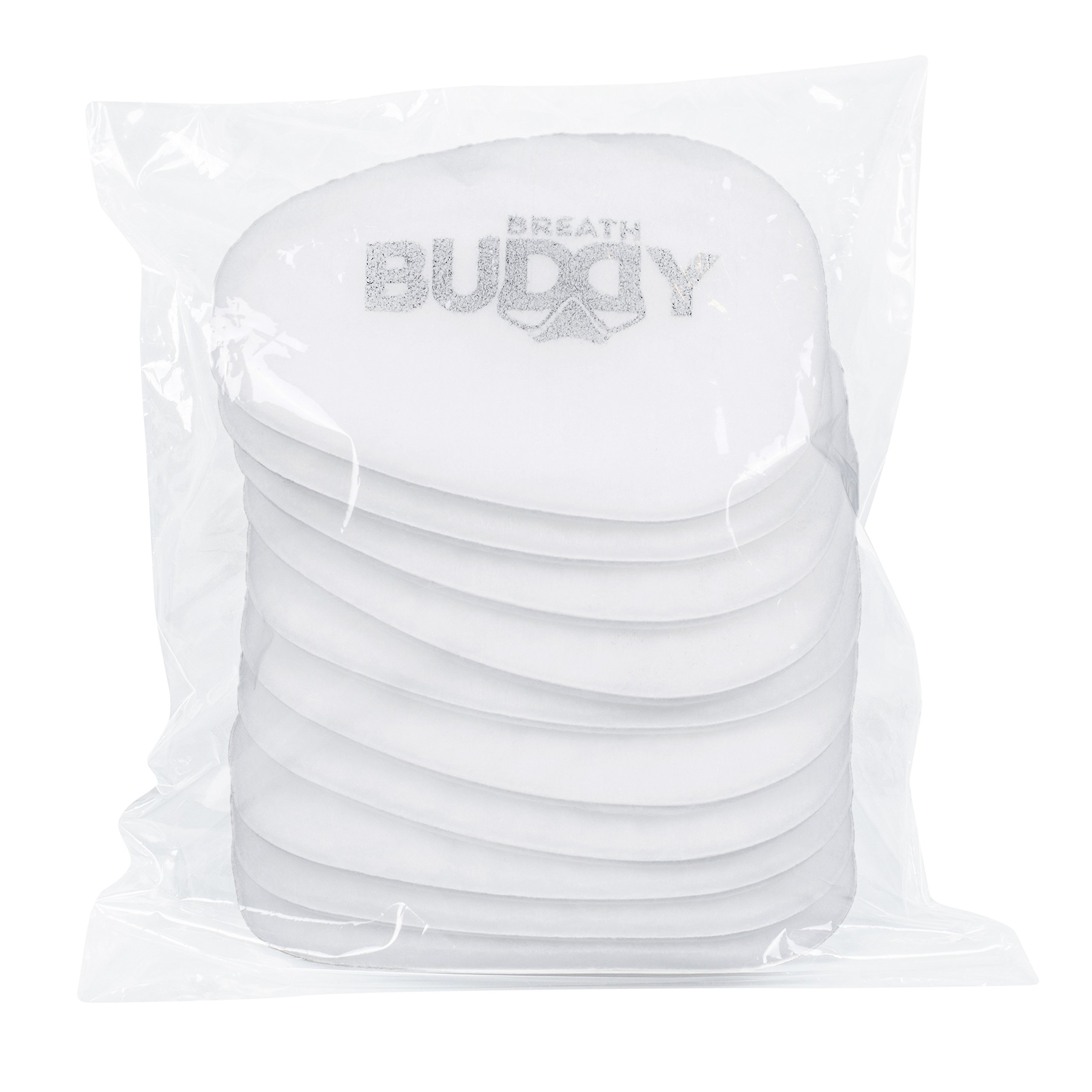 Breath Buddy Replacement Filters - Pack of 10 - Particulate Respiratory Protection