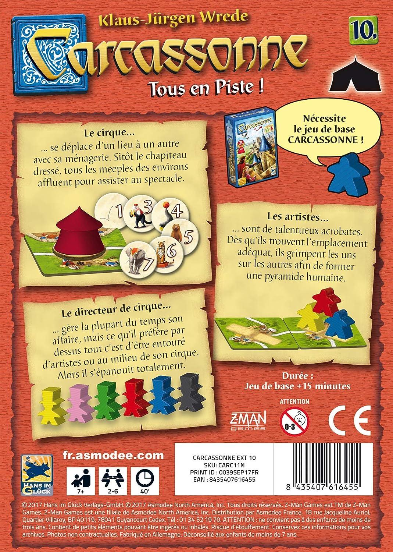 Carcassonne – Ext. 10 Todos en pista , color/modelo surtido: Amazon.es: Juguetes y juegos
