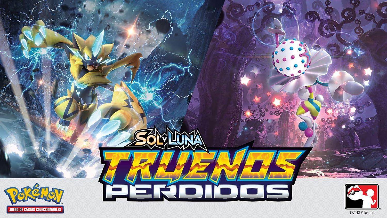 Pokèmon Caja 36 Sobres Sol y Luna TRUENOS Perdidos español ...
