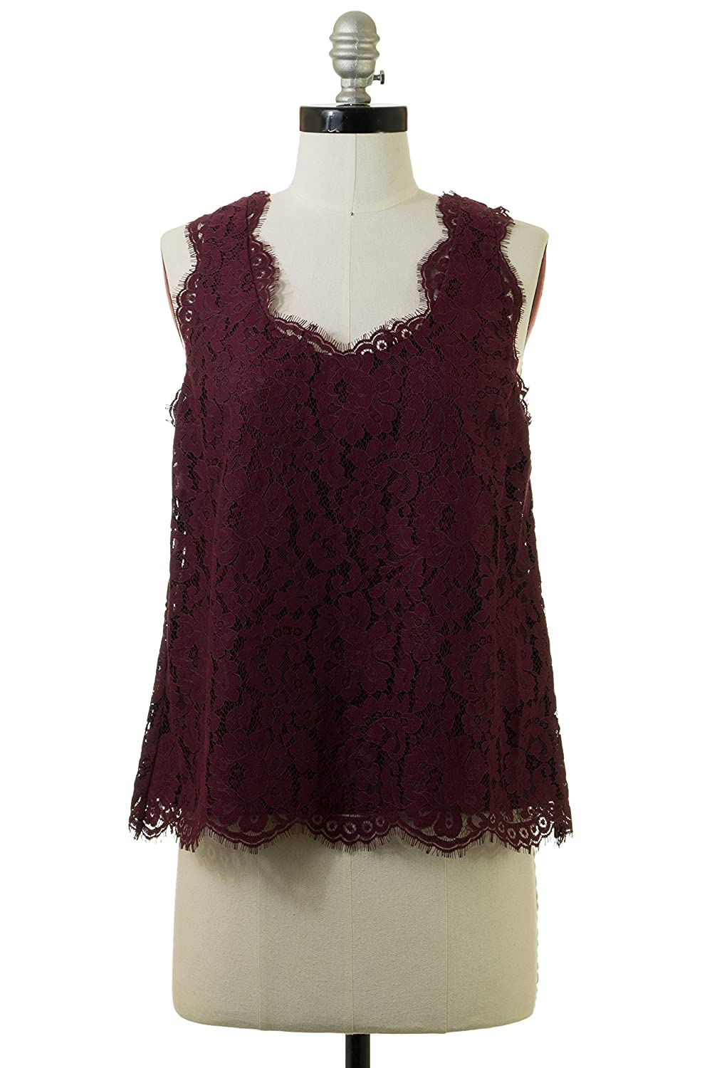 Joie Cina Tank in Raisin