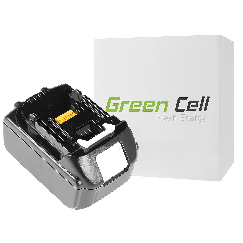 verde Cell® Utensili Elettrici Batteria per Makita UB183D (Samsung Li-Ion celle 4 Ah 18V)