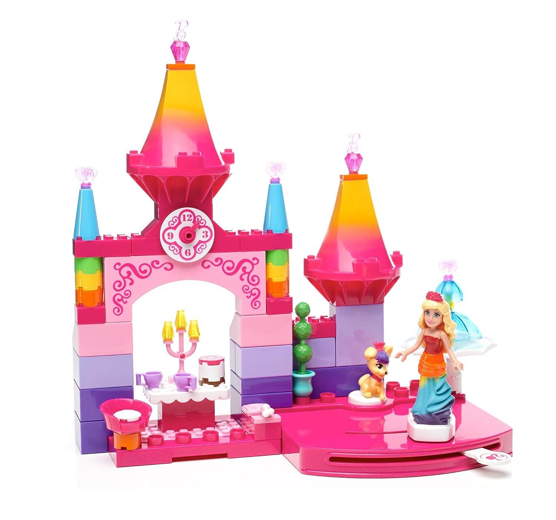 Mega Bloks Barbie Rainbow Princess Castle, Gear Sets - Amazon Canada
