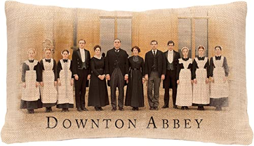 Heritage Lace Downton Abbey Downton Cast Pillow Cover
