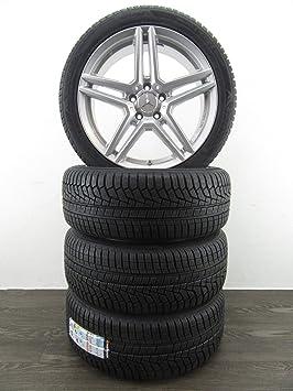 4 ruedas de invierno de 18 pulgadas para Mercedes A 177 C 205 E 213 238 8J RIAL M10 HANKOOK: Amazon.es: Coche y moto