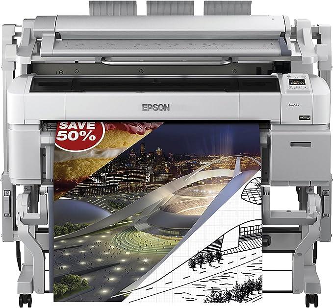 Epson SureColor SC-T5200 MFP HDD - Impresora de Gran Formato (2880 ...