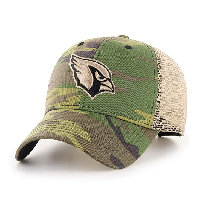 f2e5b23a5 Amazon.com : OTS NFL Arizona Cardinals Male Nameplate All-Star Adjustable  Hat, Camo, One Size : Clothing