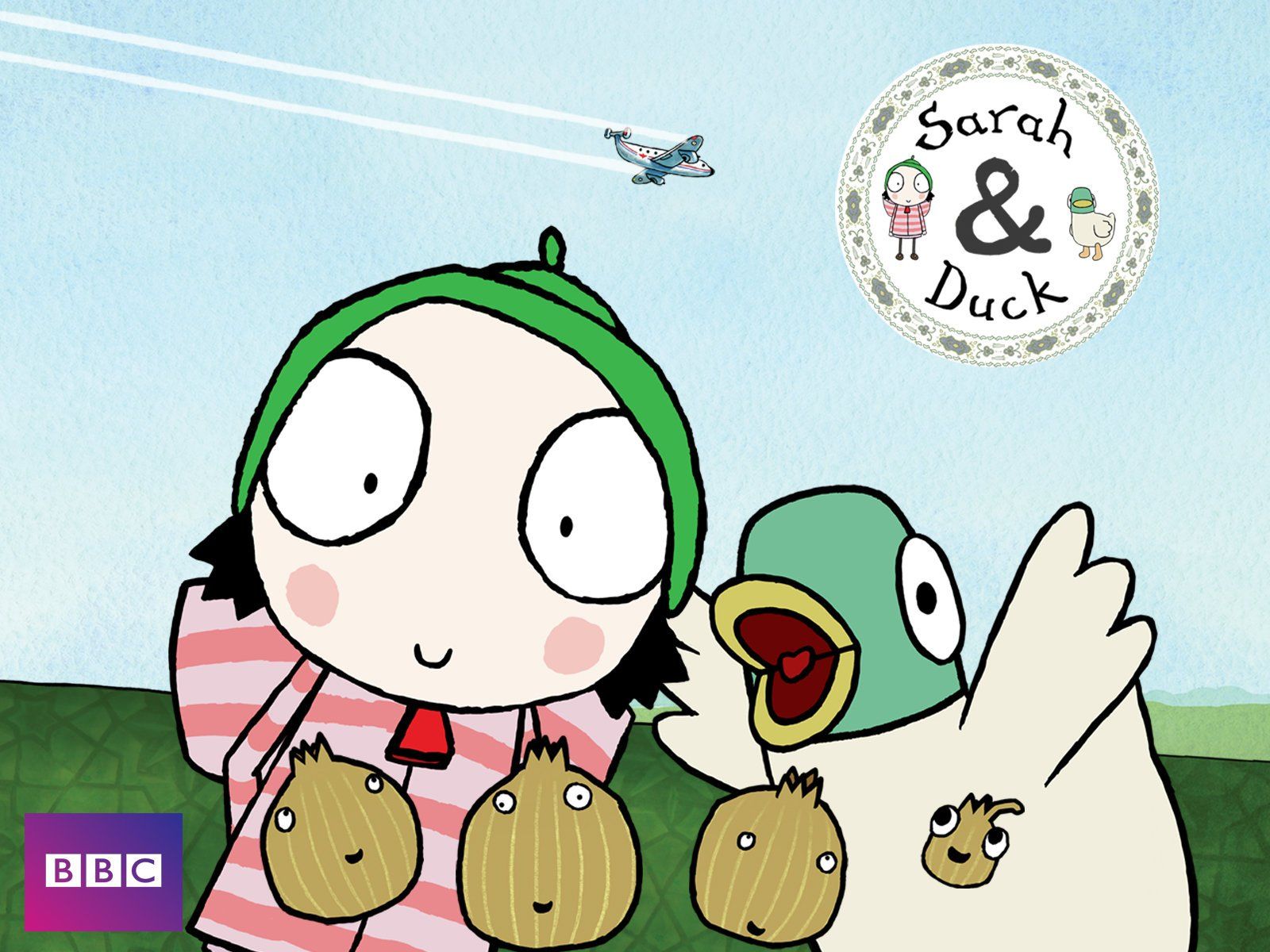 Amazon.com: Sarah & Duck Volume 1: Tim O\'Sullivan, Jamie Badminton ...