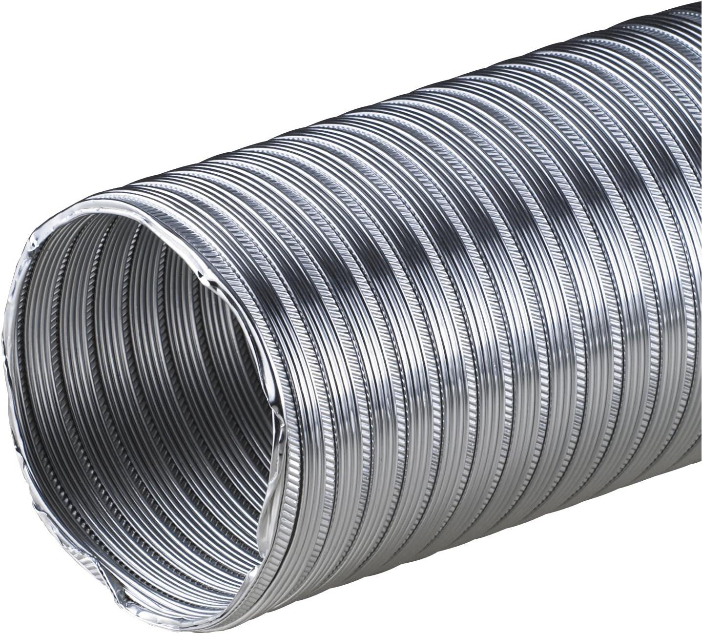 Alu-Flex-Rohr 3m Flexrohr /Ø 115 mm 115mm Alurohr Flexschlauch Schlauch Aluminium Aluflexrohr flexibles Aluminiumrohr Aluflex Hitzebest/ändig AF