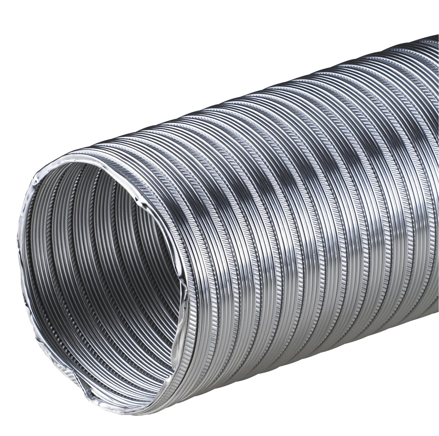 Flexible Aluminium Flexible Pipe 3M Pipe Diameter 115mm 115mm Aluminium Tube Flex Hose Flexible Aluminium Pipe Flexible Aluminium Tube Aluminium Heat Resistant AF MKK-SHOP