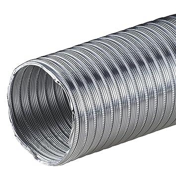 Alu-Flex-Rohr 3m Flexrohr /Ø 200 mm Alurohr Schlauch Aluflex