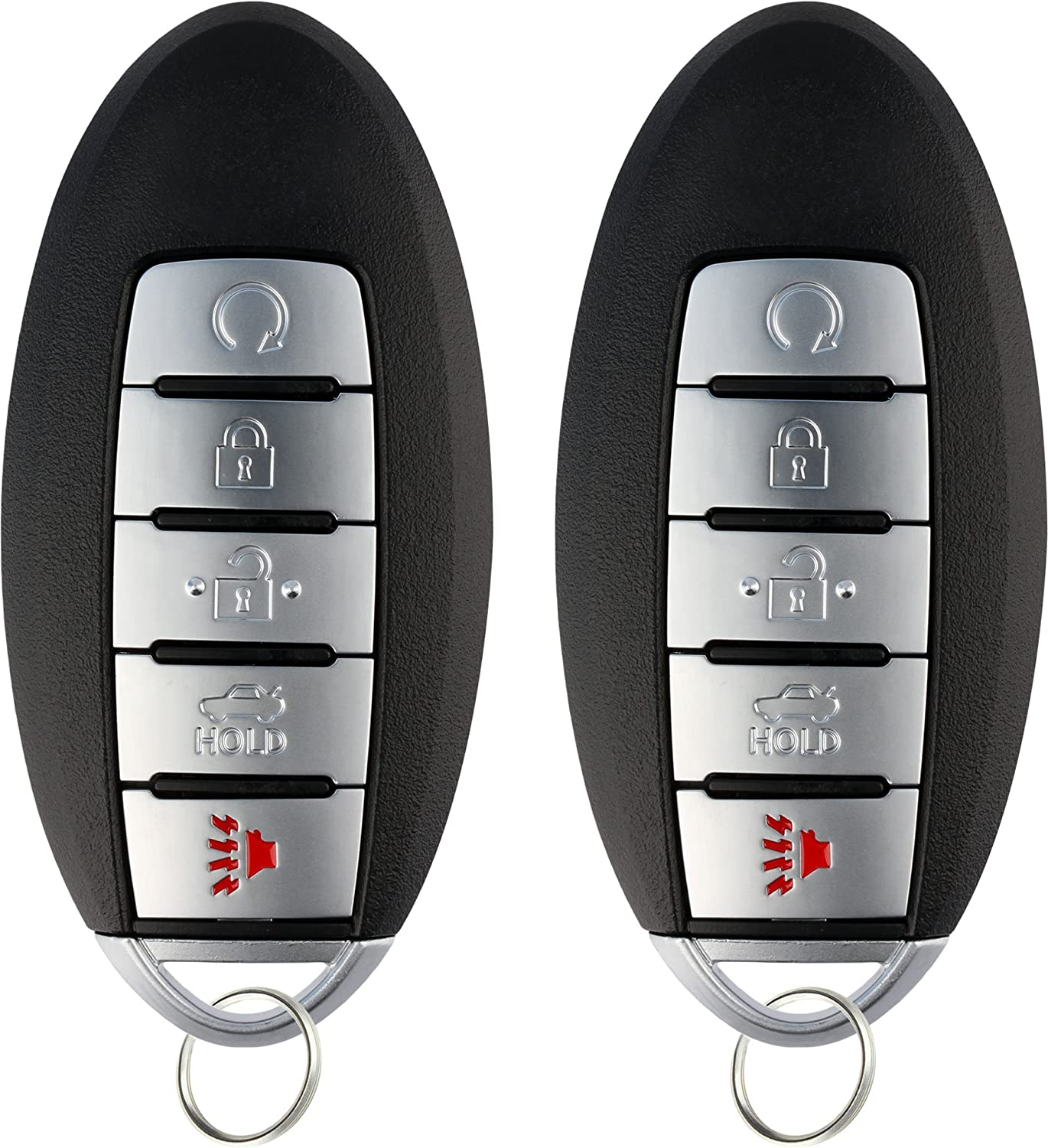 Watching Endless Armada Entering >> Keylessoption Keyless Entry Remote Starter Smart Car Key Fob For Nissan Armada Infiniti Qx80 Qx56 Cwtwb1g744 Pack Of 2