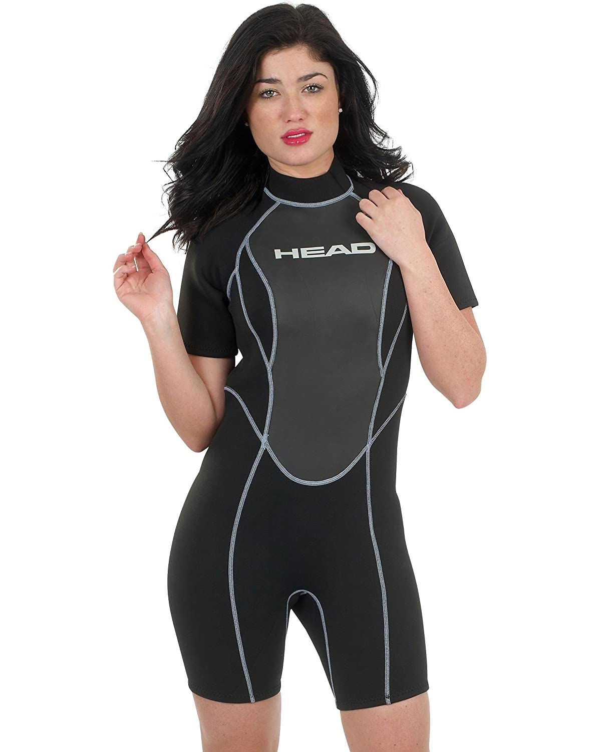 Womens Mares Head 2.5mm Wave Shorty Scuba Snorlkeling Wetsuit