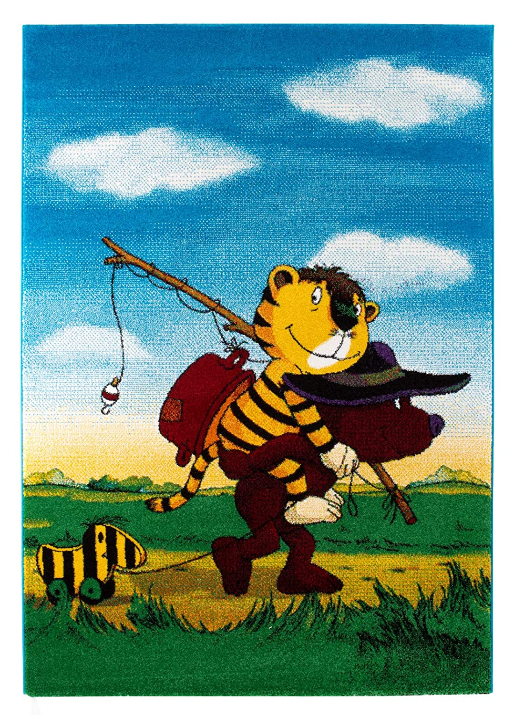 Janosch Tigers Reise 133x190cm multicolor