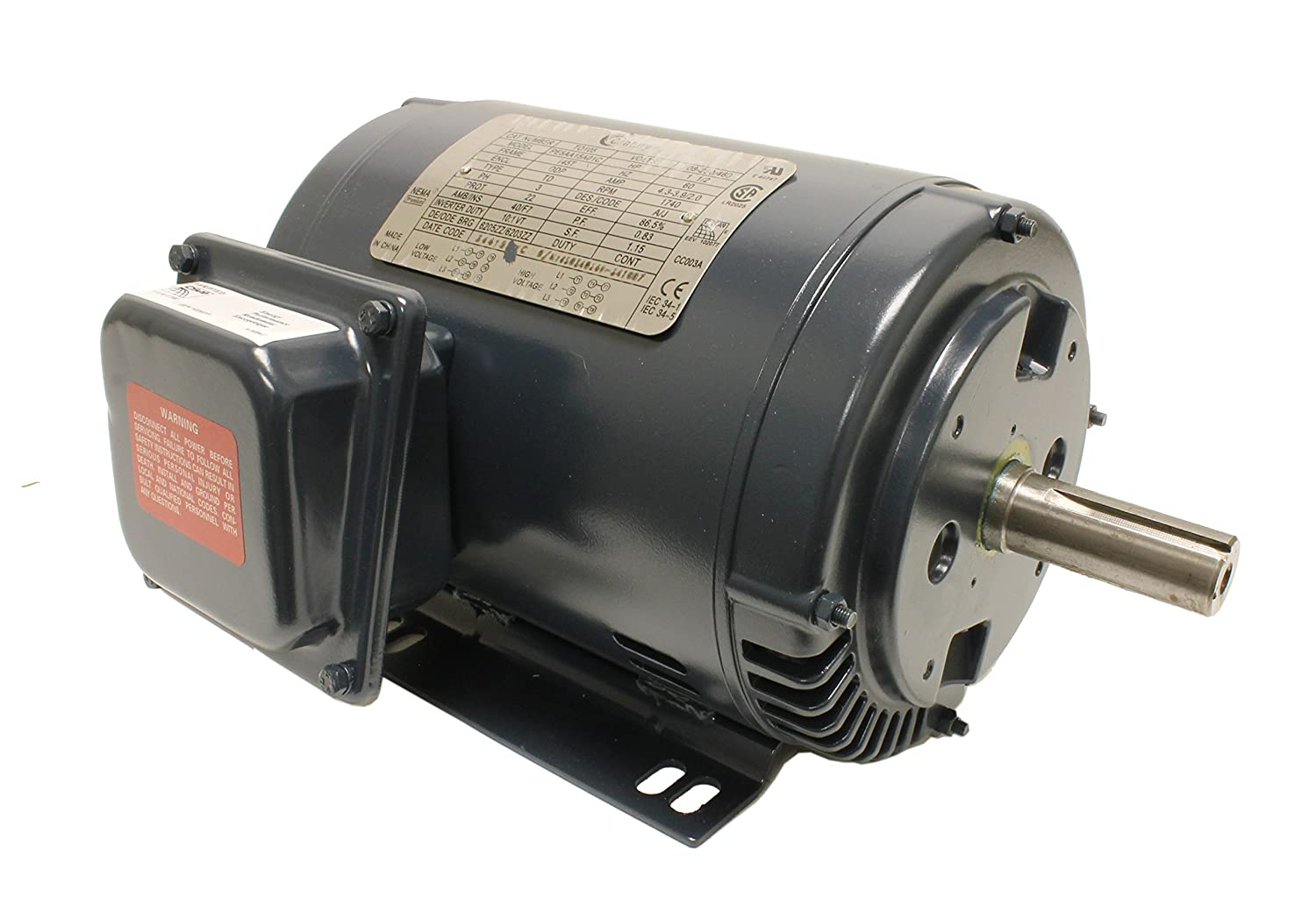 Century to105 model electric close coupled pump motor 1 5 for Electric motor 1 5 hp