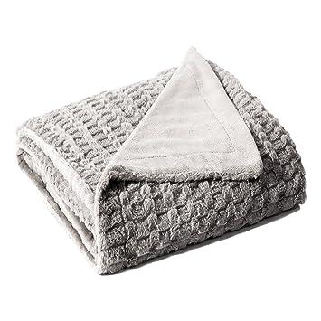 Amazon Bedsure Faux Fur Throw Blanket Fleece Bed Throw 40x40 Awesome Fuzzy Gray Throw Blanket