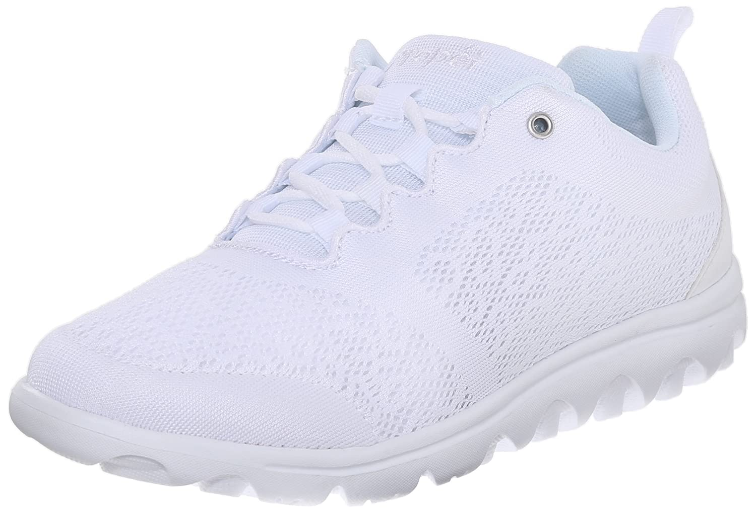 Propet Women's TravelActiv Fashion Sneaker B0118FIRPU 9.5 B(M) US|White