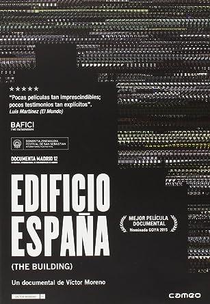 Edificio españa [DVD]: Amazon.es: Víctor Moreno: Cine y Series TV
