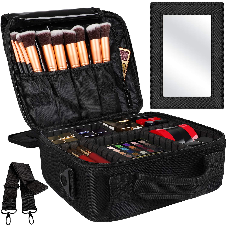 Kootek 2-Layers Travel Makeup Bag