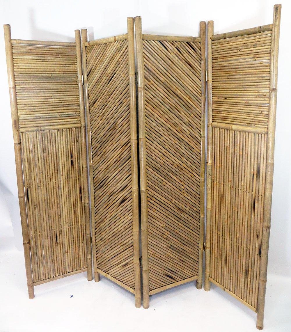 Amazon.com: Master Garden Products 4-Screen Bamboo Divider: Kitchen ...