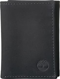 Timberland Icon - 100% Genuine Leather Bi-Fold Hombres Carteras