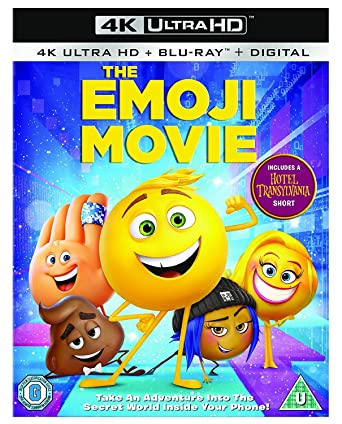 The Emoji Movie Blu Ray Uk Import Amazonde Dvd Blu Ray