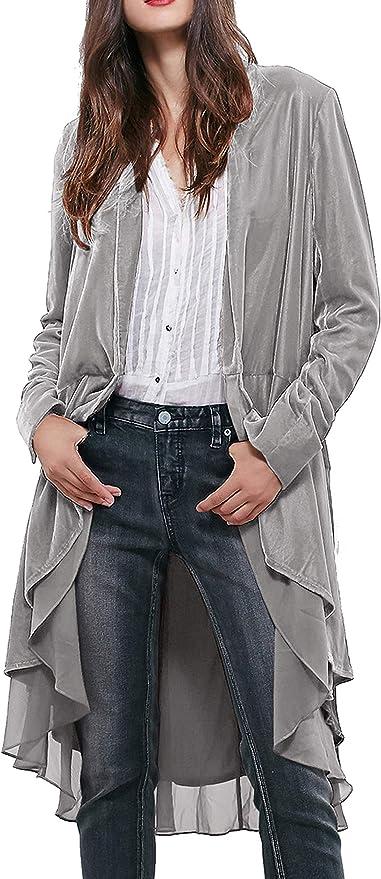 R.Vivimos Women's Ruffled Coat