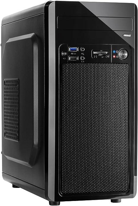 Inter-Tech MC-02 Micro Torre Negro - Caja de Ordenador (Torre, PC ...
