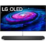"LG OLED65WXPUA Alexa Built-In WX 65"" Wallpaper Design 4K Smart OLED TV (2020)"
