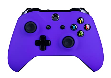 Xbox One S Wireless Controller for Microsoft Xbox One - Soft Touch Purple  X1 - Added Grip for Long Gaming Sessions - Multiple Colors Available