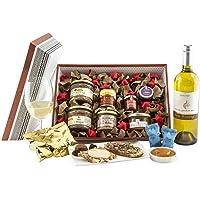 CG1807-Panier Garni Foie Gras-Panier Gourmand Fête-Colis à offrir pour Noël