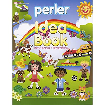 Perler Bead Patterns and Idea Book for Kids Crafts, 24 pgs: Arts, Crafts & Sewing