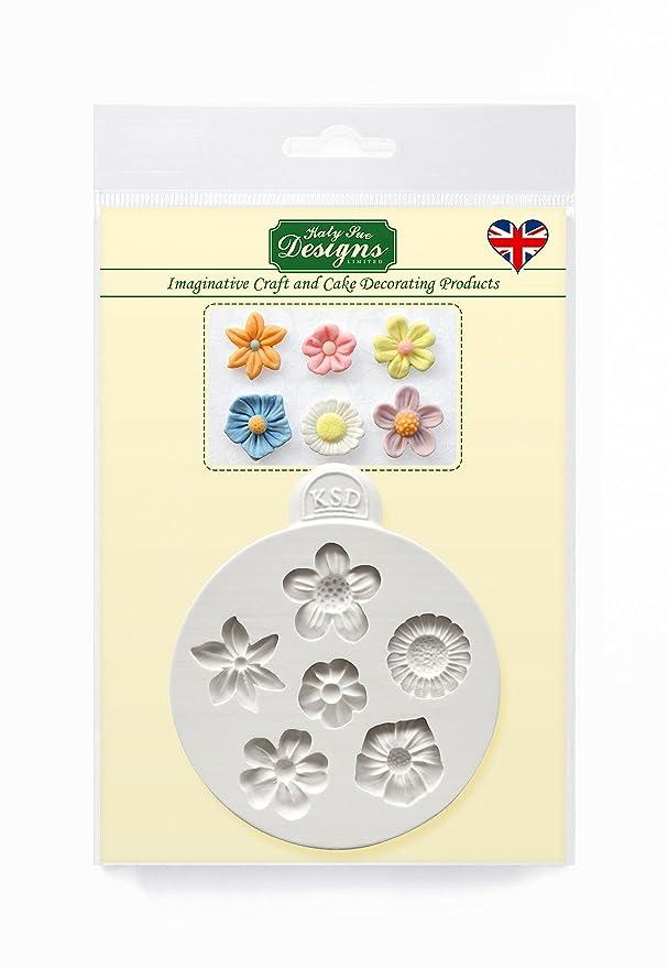 Katy Sue Designs Silikonform für Blumen als Dekorationen für Torten, Cupcakes, Naschereien und Süßigkeiten