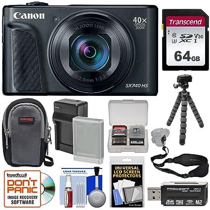 Amazon.com: Canon PowerShot SX740 HS - Cámara digital (Wi-Fi ...