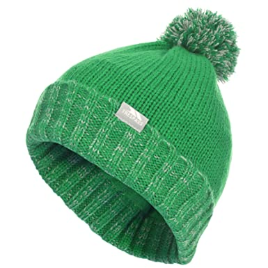 Trespass Childrens Kids Nefti Pom Pom Beanie  Amazon.co.uk  Clothing ecf030dc7ab8