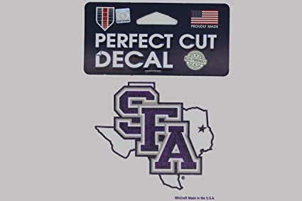 Stephen f austin university lumberjacks sfa ncaa 4x4 die cut decals