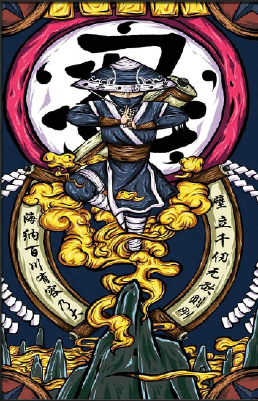 JHFVB Ninja Art Color Arte Pintura DIY Pintura Digital ...