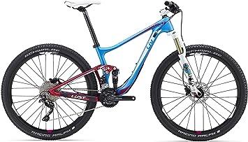 LIV Lust Advanced 2 27, 5 pulgadas Mountain Bike Mujer Azul/Rojo/wieß (2016): Amazon.es: Deportes y aire libre