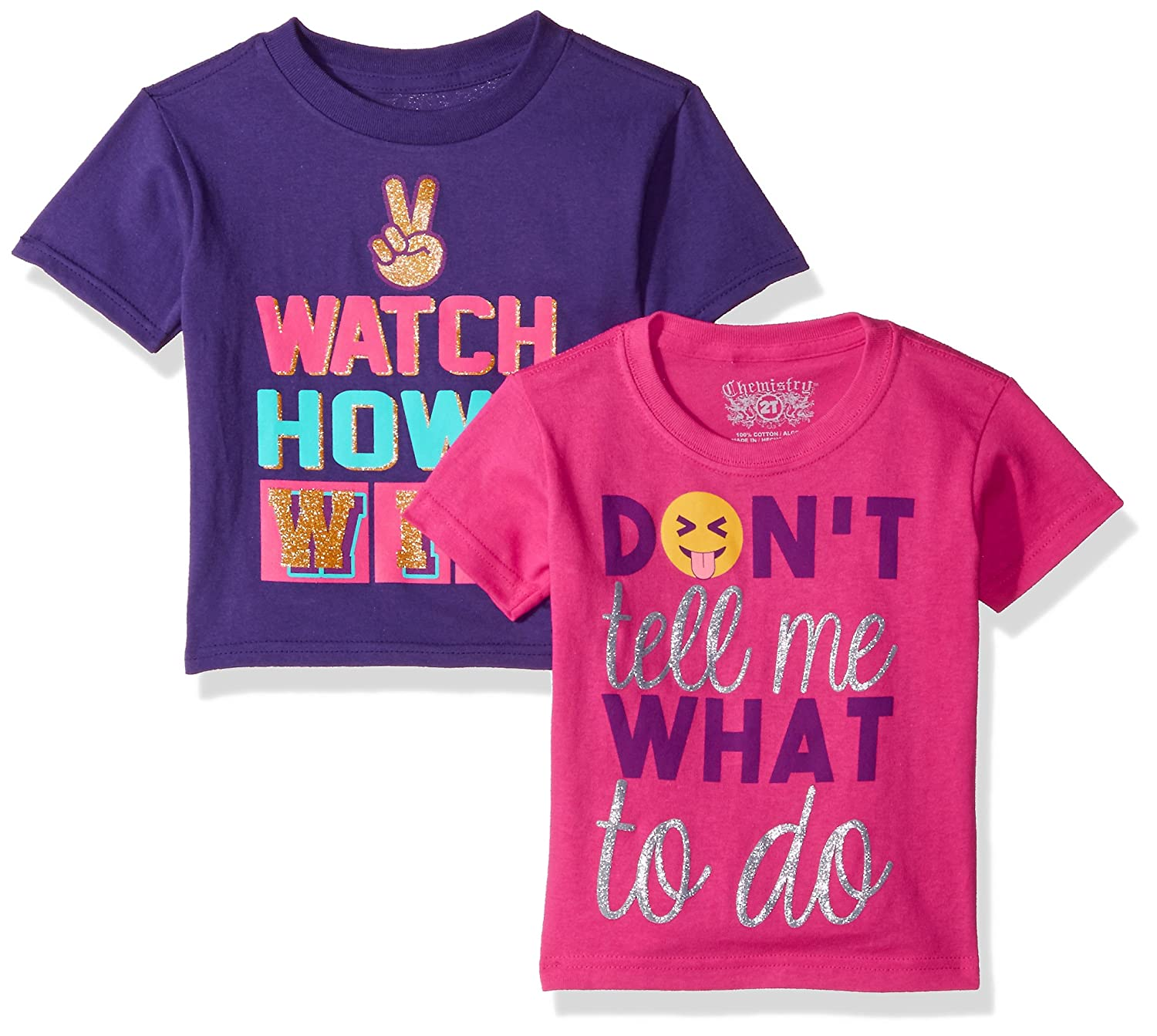 a22127a7564 Bestag Embroidery Teen Girls Rose Crop Top Slim Tees Short Sleeve T-Shirt.  $5.91. C-Life Girls' Toddler Chemistry 2-Pack Assorted Graphic T-Shirts